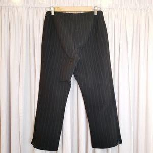 Sympli black Pin-Stripe Pants